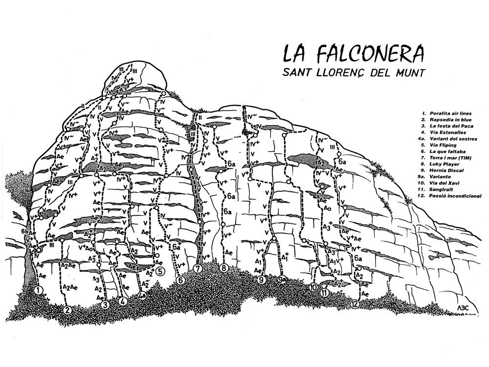 La Falconera   Santllors 713_falconera_croquis